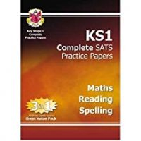 KS1 Complete Practice papers: Maths, Rea
